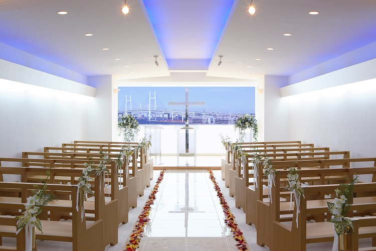 KKRポートヒル横浜 チャペル スマ婚 FAMILY