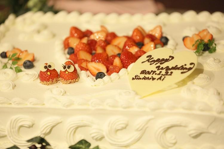 Banquet Restaurant FUKUROU フクロウ ケーキ スマ婚FAMILY